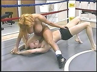 Tammy lee - imported mixed wrestling