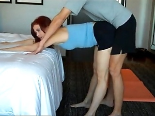 Moms yoga giving out