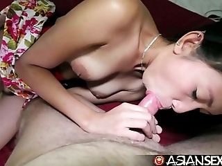 Oriental sex schedule - white-livered filipina milf acquires pounded overwrought white blarney